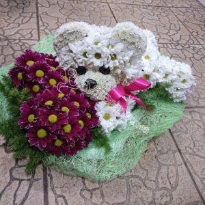 цветочный дизайн, цветы,красивые игрушки