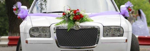 оформление свадебных машин, свадьба, цветочный дизайн