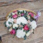 цветочные корзины, дизайн корзин, оформление корзин