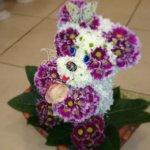 красивые игрушки, оригинальный подарок, цветы