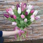 букет девушке, цветы в махачкале, свадьба,