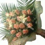 букет девушке, цветы в махачкале, свадьба