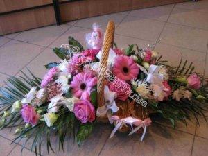 дизайн корзин, плетёные корзины, корзины под цветы
