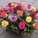 цветочные корзины, дизайн корзин,красивые корзины