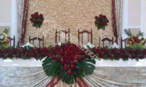 цветочный дизайн, оформление банкетных залов, банкетные залы