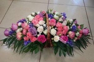корзины под цветы,дизайн корзин,экибана