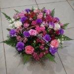 оформление корзин, цветочный дизайн,цветочные корзины