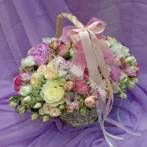 плетение корзины, оформление корзин,цветочный дизайн