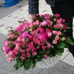 корзины под цветы, красивые корзины, оформление корзин