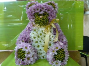 оригинальный подарок,цветы,игрушки из цветов