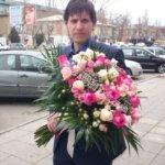 букет невесты, подарить цветы, цветы в подарок, свадебный букет