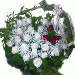 цветочные корзины,оформление корзин, плетёные корзины