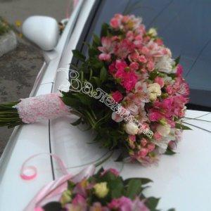 цветочный дизайн, оформление машин цветам, оформление свадебного кортежа, свадьба