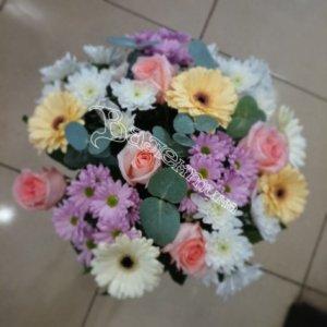 букет девушке, цветы в махачкале, букеты, доставка цветов
