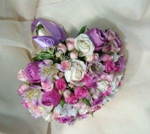 свадьба,цветы в Махачкале,букет невесты