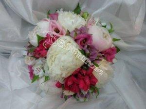 доставка цветов, свадебный букет, букет невесты
