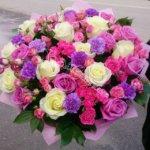 свадьба, свадебный букет, подарить цветы