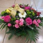 корзины, цветочный дизайн,плетёные корзины