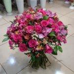 букет девушке, цветы в подарок,букеты