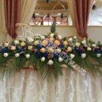 оформление банкетных залов, оформление помещений цветочный дизайн
