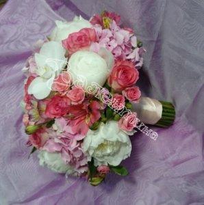 доставка цветов, свадьба, свадебный букет