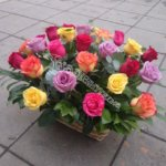корзины, экибана, цветочные корзины