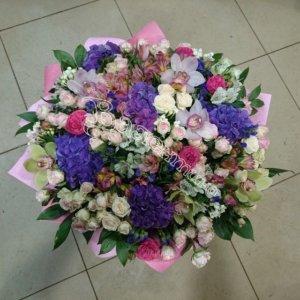 букет девушке, букеты, доставка цветов