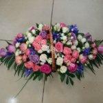 красивые корзины, цветочные корзины, цветочный дизайн