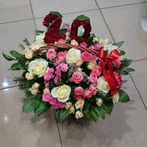экибана, оформление корзин, цветочные корзины, дизайн корзин