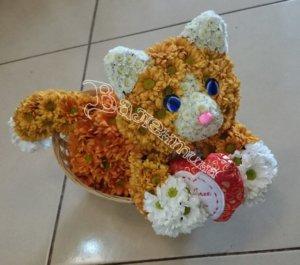 оригинальный подарок,цветочный дизайн,цветы