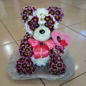 цветы, цветочный дизайн,игрушки из цветов