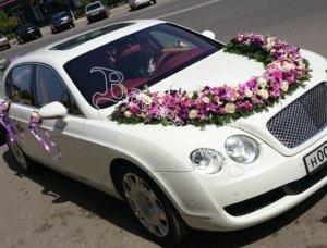 оформление машин цветам, оформление свадебного кортежа, машины на свадьбу