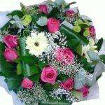 подарить букет, букет девушке, свадебный букет, цветы