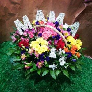 красивые корзины, цветочные корзины, дизайн корзин, корзины