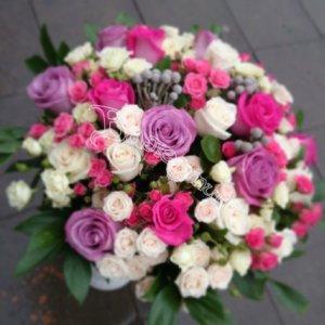 цветы в махачкале, букеты, подарить цветы, букет девушке