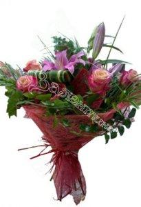 доставка цветов, свадебный букет, букет невесты, цветы в махачкале
