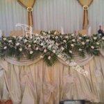 формление банкетных залов, дизайн, цветочный дизайн