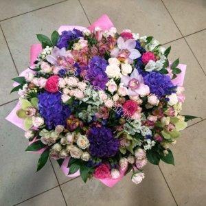 букет девушке, свадебный букет, букет девушке, цветы в махачкале