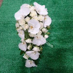 букет невесты, букеты, цветы в махачкале