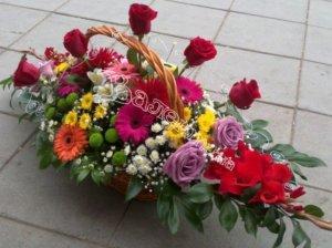 цветочный дизайн,экибана,корзины под цветы
