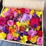 корзины под цветы, экибана,плетёные корзины