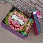 цветочные корзины, дизайн корзин, цветочный дизайy