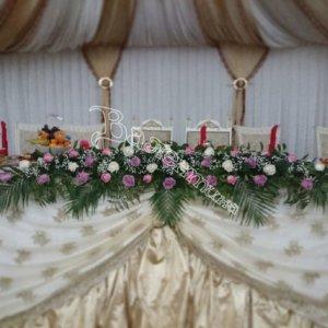 оформление залов, банкетные залы, оформление банкетных залов, дизайн, цветочный дизайн