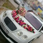 оформление свадебного кортежа, оформление свадебных машин, свадьба