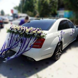 оформление машин, цветочный дизайн, оформление свадебных машин