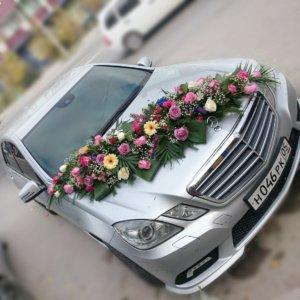 оформление свадебных машин, свадьба