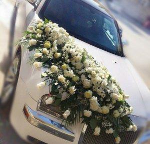 оформление машин, цветочный дизайн, оформление машин цветам, оформление свадебного кортежа, машины на свадьбу