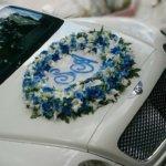 оформление свадебного кортежа, свадьба